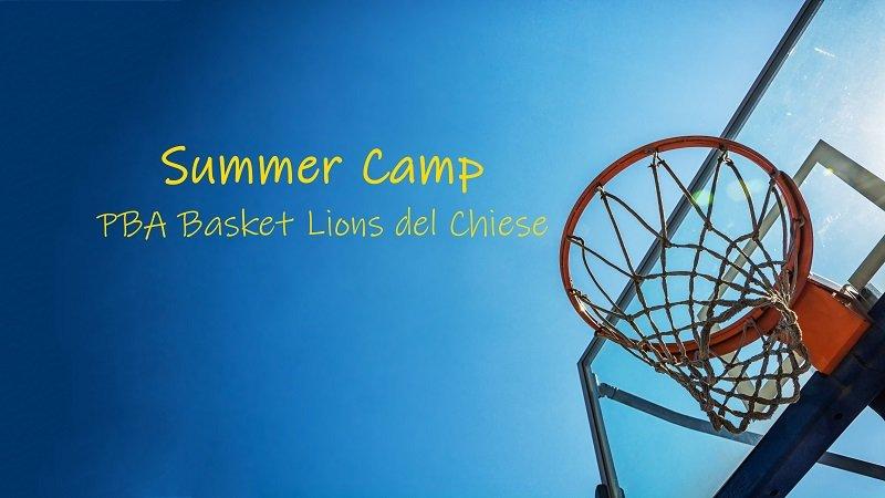 """""""SUMMER CAMP"""" PBA BASKET LIONS DEL CHIESE,  TERMINATA LA QUINTA EDIZIONE"""