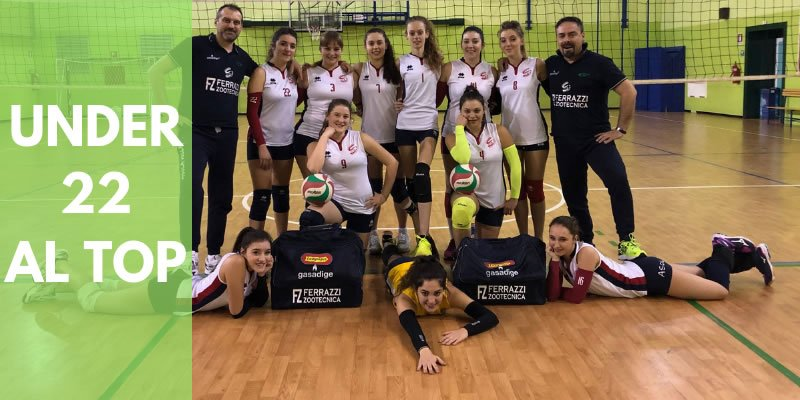 VOLLEY UNDER 22 AL TOP
