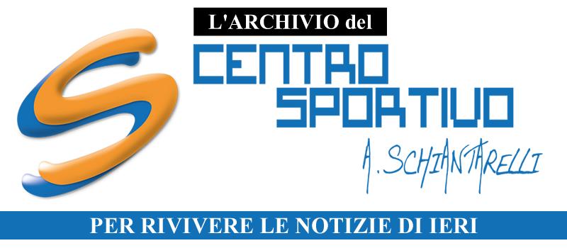 Archivio Notizie – Centro Sportivo Schiantarelli